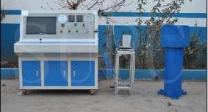 二氧化碳灭火器残余变形量水压试验机