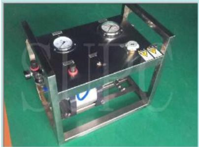 小型水压试验机|手动按钮小型水压测试台|便携式水压试验机