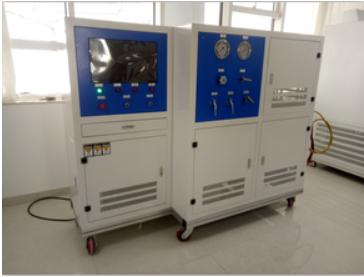 塑料泵体水压爆破试验机|塑料泵水锤试验机