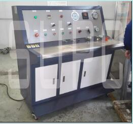 核电阀门打水压试验机|核管道阀门试水压测试台|等级水