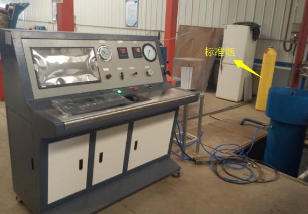 气瓶水压试验机(专用机)测试原理和钢瓶水压试验机的测试原理