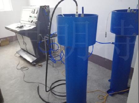 氧气钢瓶水压试验机|禁油钢瓶残余变形量水压试验机