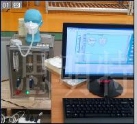 口罩呼吸阀气体密封性检测仪 防护口罩呼吸阀密封性测试台