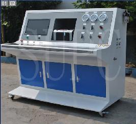 不锈钢管耐水压密封性试验机 毛细钢管水压测试台 计算机自动水压机