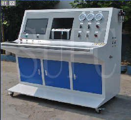 不锈钢管耐水压密封性试验机|毛细钢管水压测试台|计算机自动水压机