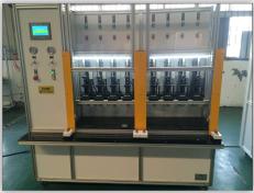 制动管多工位液压试验机 刹车管批量耐压试验机