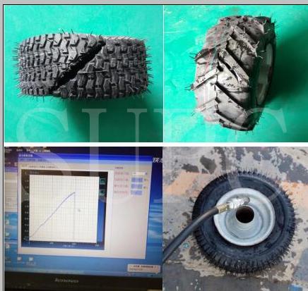 轮胎水压爆破试验机 轮胎水压试验标准 轮胎水压爆破速率