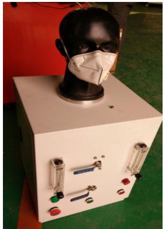 面罩气密性检测仪|口罩密封性测试台