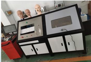 口罩死腔检测装置|面罩死腔测试台