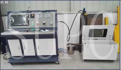 电机壳体冷却水管水压密封测试台-冷却水管密封性测试台