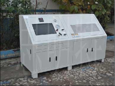 塑料储液罐耐水压力爆破试验机|塑料罐耐水压爆破测试台