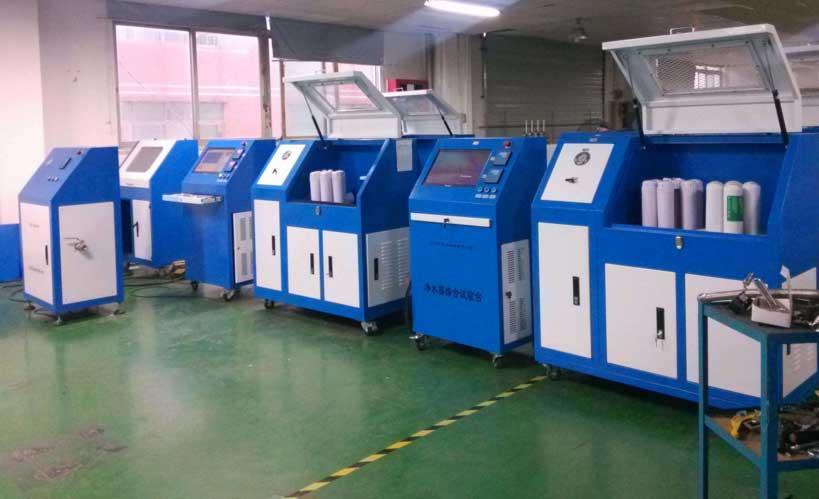 净水器电磁阀密封性试验机|电磁阀水压强度试验机