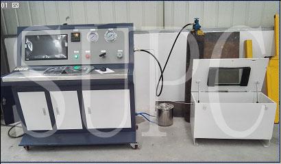 煤气罐水压爆破测试台-煤气瓶耐水压爆破试验机