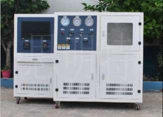 焊接钢瓶水压爆破试验机-焊接灭火器储气罐水压试验机