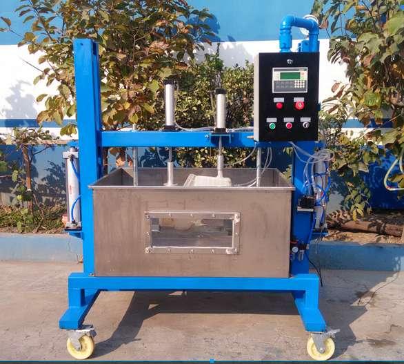 膨胀水箱气密性测试台-塑料水箱气密封性