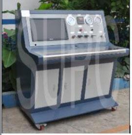 塑性管件水压测试台-PVC塑料管件压力测试台