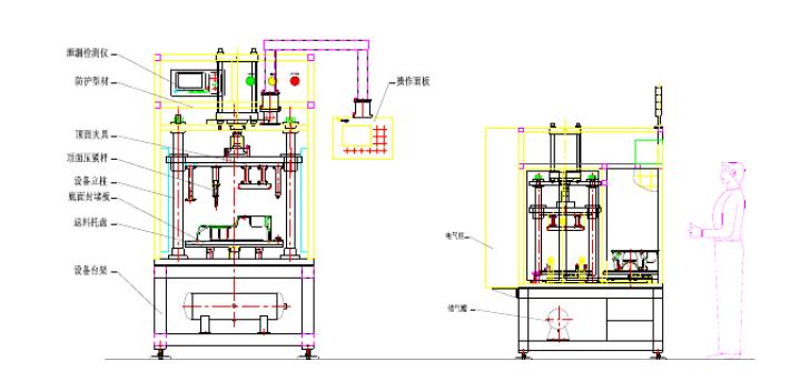 油底壳气密性检测设备-油底壳检漏试验机