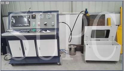 新能源接口水压试验机-新能源加气口压力试压机