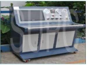 轴承冷却水道水压密封性试验机-轴承座水压试验机-计算机水压压力曲线测试台