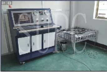 异形管密封性试验机-排气管气密性试验机