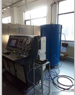 钛合金气瓶水压试验机|钛金瓶外测法水压试验机
