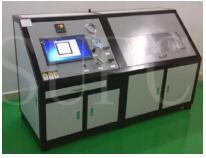 氧弹水压试验机|氧弹容器水压测试台|标注测量法