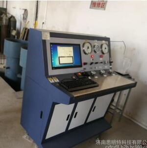 思明特气瓶外测法水压试验机的注意事项和操作步骤