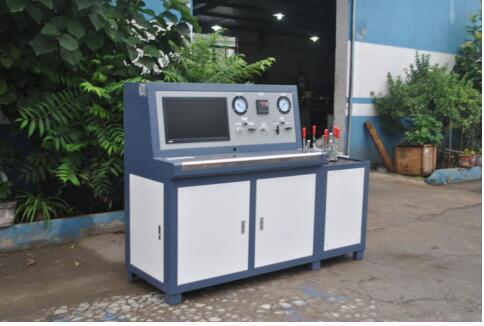 膨胀水箱盖开启压力性能测试台 水壶呼吸盖开启压力测试台