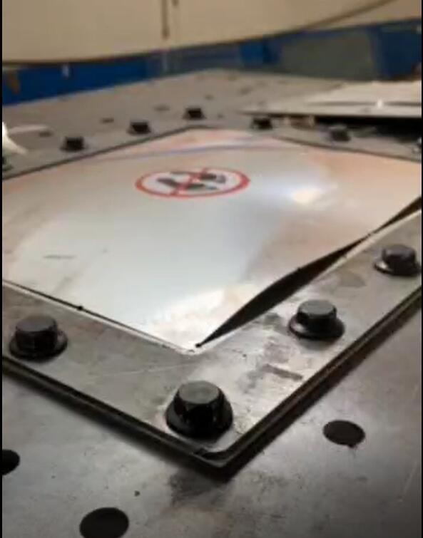 粉尘平板爆破片气压爆破测试台|平板爆破片耐压爆破机(技术参数)
