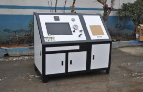 防爆传感器水压测试台|防爆传感器/压力表壳体水压机
