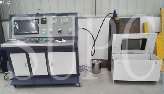 氢气阀门气密性测试台|加氢口阀门密封性试验机