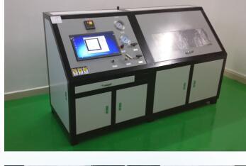 焊接换热器保压爆破试验机|焊接换热器水压爆破测试台|计算机阶段升压