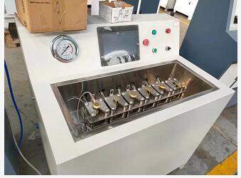 消防喷淋头水压试验机|多工位消防喷淋头水压机