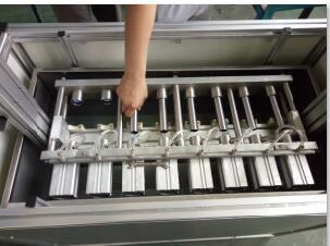 火花塞管气密性试验机|活塞管多工位气密性测试台