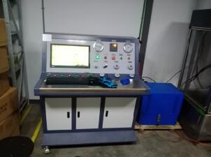 水表壳体水压试验机 水表管道水压测试台