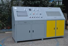 金属管道水压爆破试验机|管道耐水压力测试台