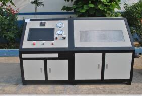 煤(燃)气管打水压测试台 煤(燃)气管水压试验机